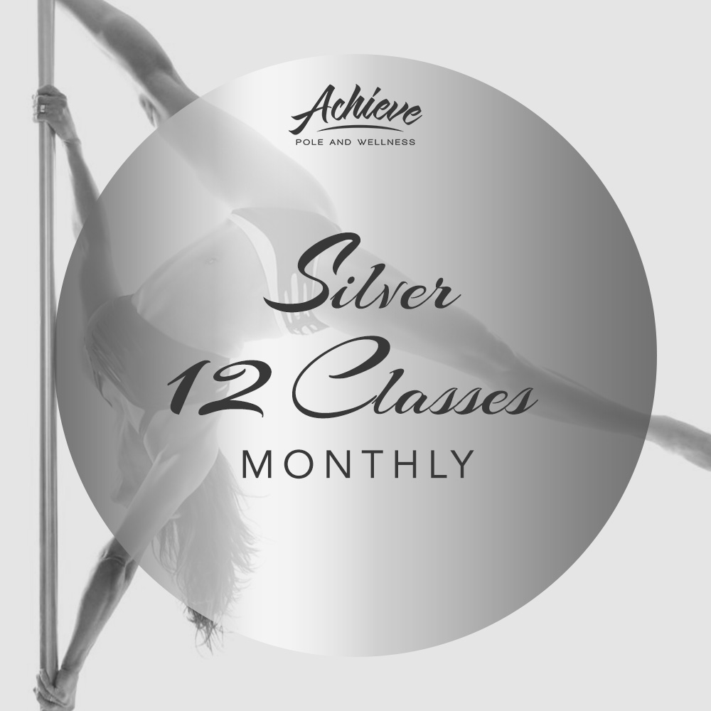 SILVER Mthly 12 Classes a Mth