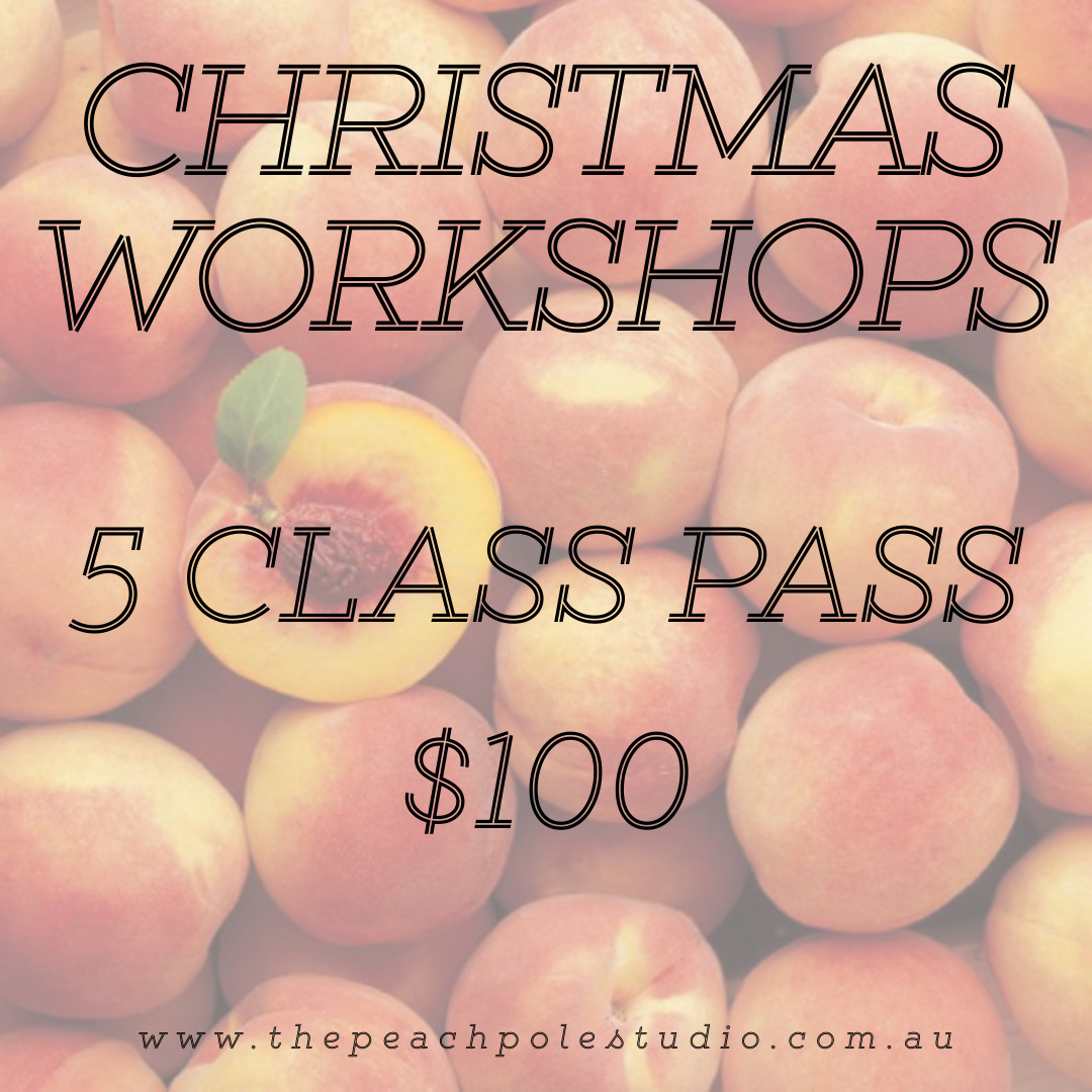 CHRISTMAS BREAK 2020 - 5 CLASS PASS