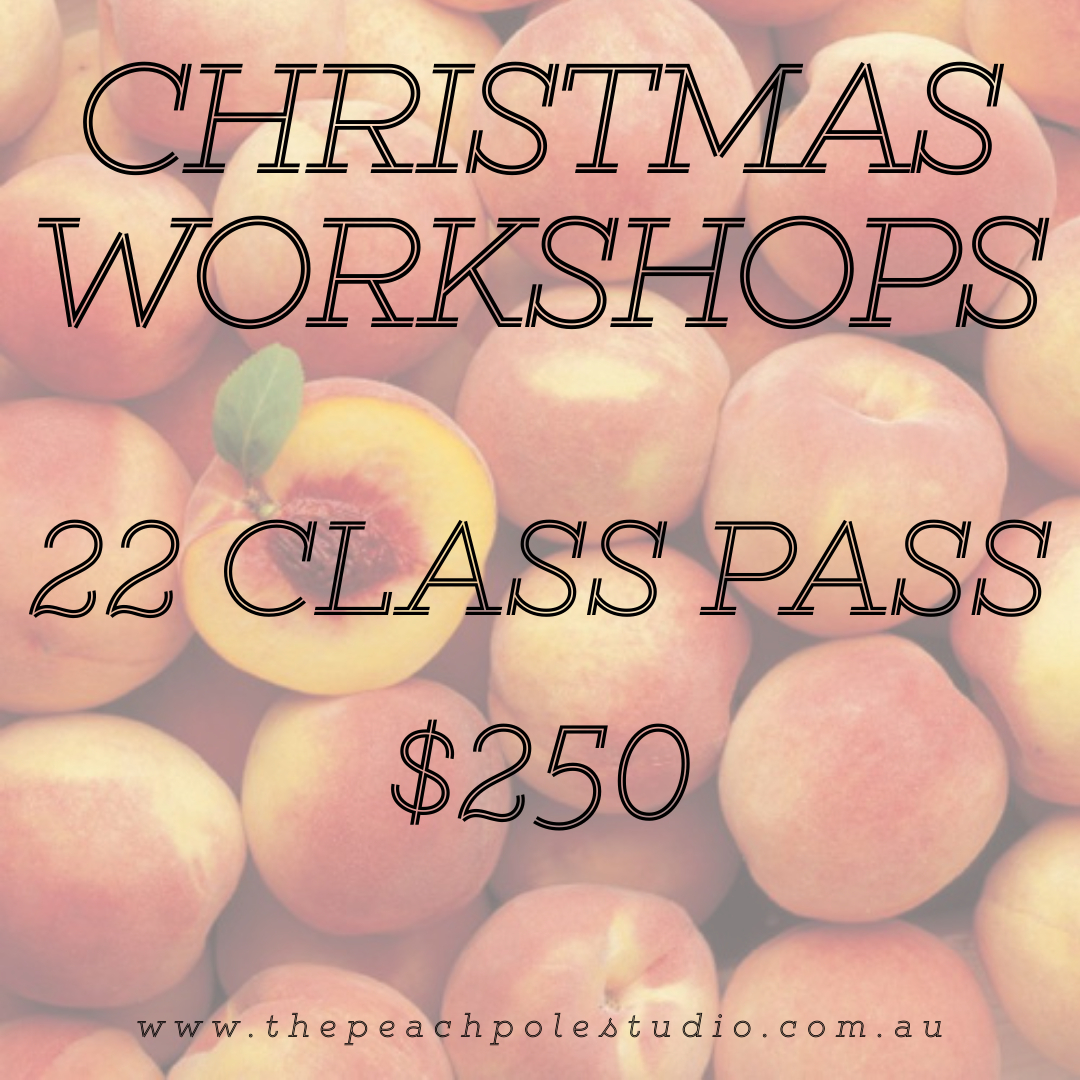 CHRISTMAS BREAK 2020 - 22 CLASS PASS