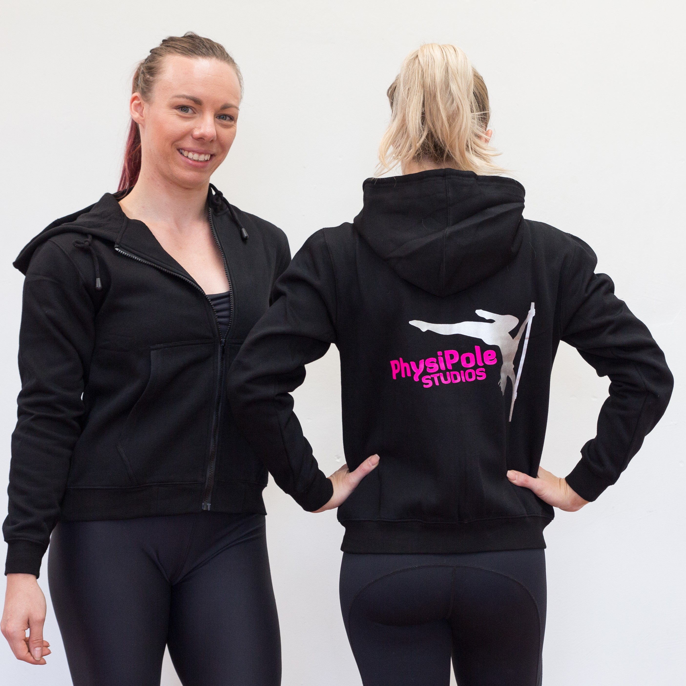 PhysiPole Zip Up Hoodie