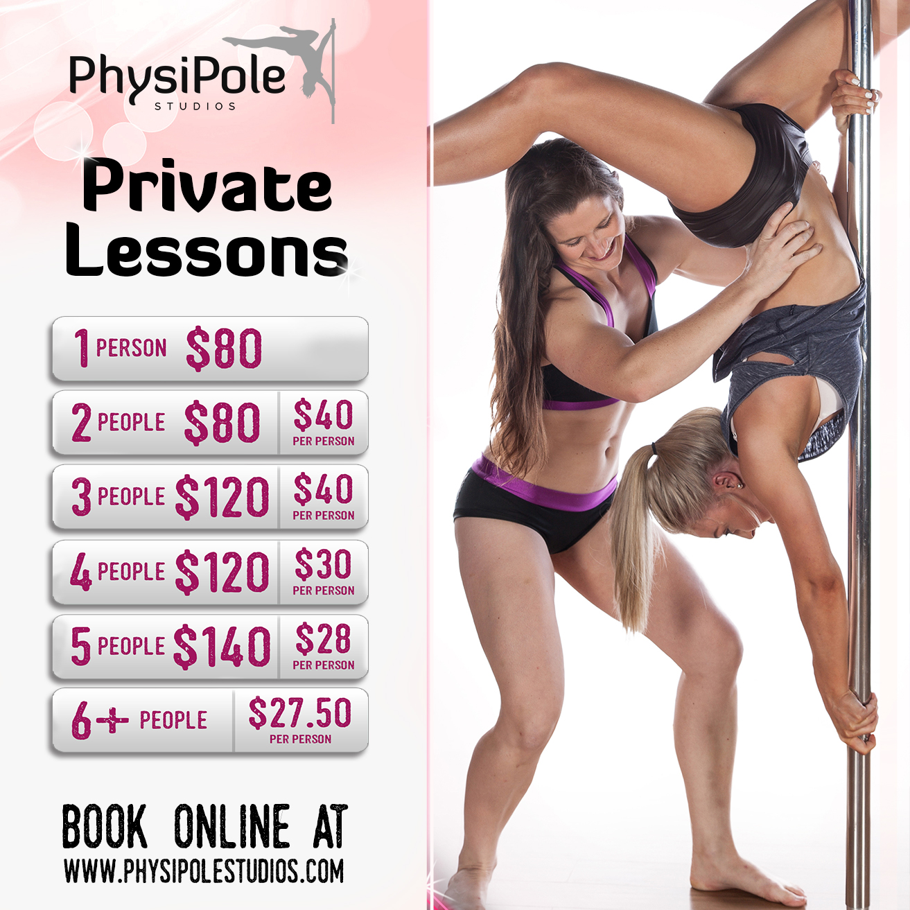 PhysiPole Private Lessons