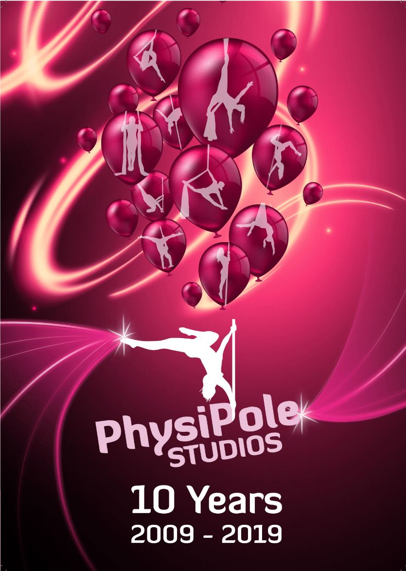 PhysiPole 10 Years 2009 - 2019 Book