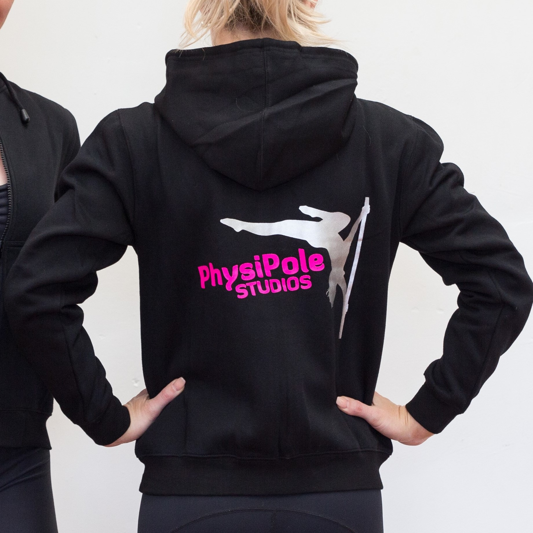 PhysiPole Pink Logo Hoodie